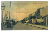 1975 - Dobrogea, SULINA, Market - old postcard - used - 1911