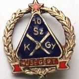 INSIGNA UNGARIA comunista Husegert - 22 x 19 mm **, Europa