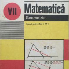 MATEMATICA GEOMETRIE MANUAL PENTRU CLASA A VII-A - I. Cuculescu, Ottescu, Gaiu - Manual scolar didactica si pedagogica, Clasa 7, Didactica si Pedagogica