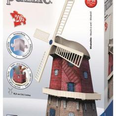 Puzzle Ravensburger 3D Moara De Vant, 216 Piese