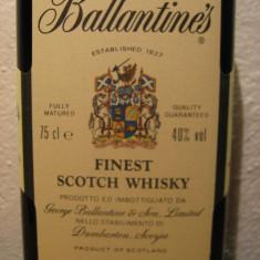 Whisky ballantines, finest, scotch whisky cl.75 gr.40 ani 60