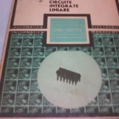 CIRCUITE INTEGRATE LINIARE VOL II MANUAL DE UTILIZARE M.BODEA,A.VATASESCU
