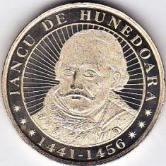 50 bani 2016 comemorativ Iancu de Hunedoara si castelul huniazilor UNC (2) - Moneda Romania