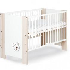 Patuturi Copii Din Lemn Klups Megi Ursulet Maro - Patut lemn pentru bebelusi