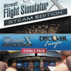 Microsoft Flight Simulator X Discover Europe Bundle Steam Edition Pc - Jocuri PC Microsoft Game Studios, Simulatoare, 3+, Single player