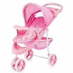 Carucior Pentru Papusi Chipolino Trixi Pink - Carucior papusi