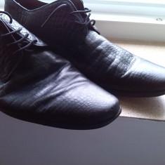 Pantofi barbati marime 42 firma joop piele, Culoare: Negru
