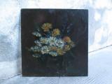 Cumpara ieftin Flori de camp,  pictura veche in ulei