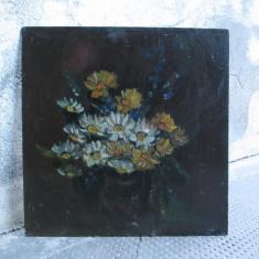 Flori de camp,  pictura veche in ulei, Altul