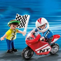 Baieti Cu Motociclete Playmobil
