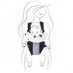 Marsupiu Chipolino Ali Platinum 2016 - Marsupiu bebelusi Chipolino, 6-12 luni, Gri
