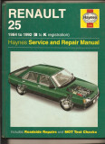 Manual reparatie Renualt 25