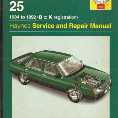 Manual reparatie Renualt 25 - Manual auto