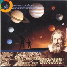 SET MONETARIE 2009-ANUL INTERNATIONAL AL ASTRONOMIEI, 300 roni, taxe postale zero - Moneda Romania