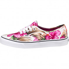 Tenesi dama originali Vans Womens Authentic Hawaiian Floral White - Tenisi dama, Culoare: Din imagine, Marime: 37