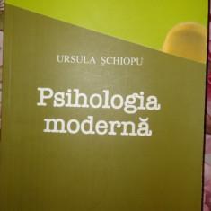 Psihologia moderna sau psihologia varstelor an 2008/329pag- Ursula Schiopu - Carte Psihologie