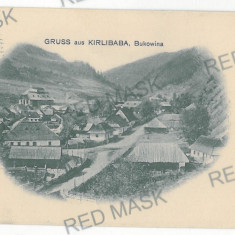 1813 - Litho, Bukowina, Suceava, KARLIBABA - old postcard - used - 1906 - Carte Postala Bucovina 1904-1918, Circulata, Printata