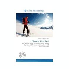Claudia Giordani - Carte in engleza