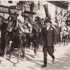 BRASOV, CEREMONIE, FOTO ATELIER HELIOS, M. GEBAUER - Carte Postala Transilvania dupa 1918, Necirculata, Printata