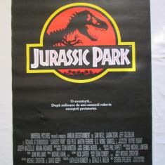 REZERVAT Afis cinema vechi Jurassic Park, afis film Jurassic Park, poster cinema