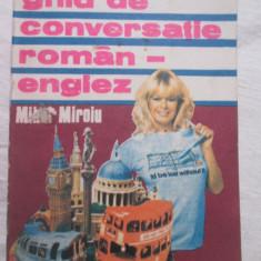 Mihai Miron - Ghid de Conversatie roman-englez - Curs Limba Engleza Altele