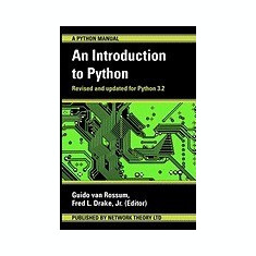 An Introduction to Python - Carte in engleza