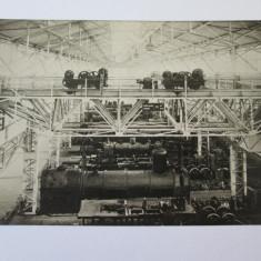 C.P. NECIRCULATA/FOTO RESITA, INTERIOR FABRICA DE LOCOMOTIVE ANII 20 - Carte Postala Banat dupa 1918, Fotografie