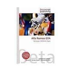 Alfa Romeo GTA - Carte in engleza