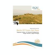 Battle of Venta del Pozo - Carte in engleza