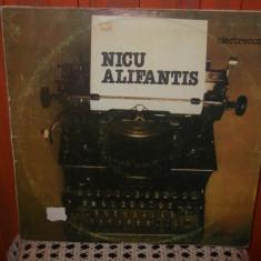 - Y- NICU ALIFANTIS -   - DISC VINIL LP