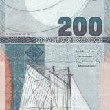 Bancnota Capul Verde 200 Escudos 2005 - P98 UNC - bancnota africa