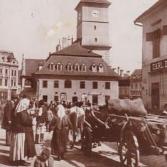 BRASOV, BRASSO, KONSTADT, PRIMARIA VECHE (SFATUL) - Carte Postala Transilvania dupa 1918, Circulata, Fotografie