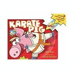 Karate Pig - Carte in engleza