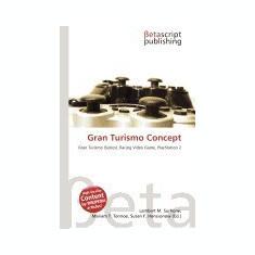 Gran Turismo Concept - Carte in engleza