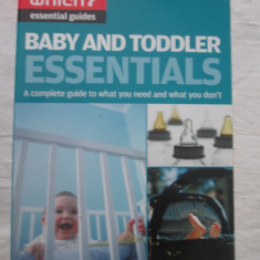 Anne Smith - Baby and Toddler Essentials - Carte in engleza