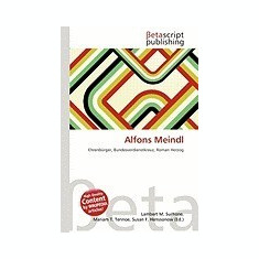 Alfons Meindl - Carte in engleza
