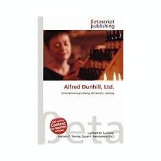 Alfred Dunhill, Ltd. - Carte in engleza