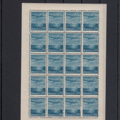 ROMANIA 1947, LP 218, 1 MAI IN COALA MICA DE 20 - Timbre Romania, Nestampilat