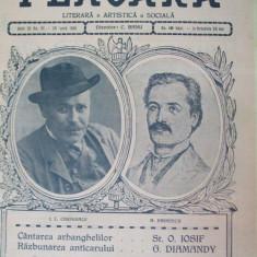 Flacara 28 iunie 1914 Caragiale Ionescu I. G. Duca G. Diamandi - Revista culturale