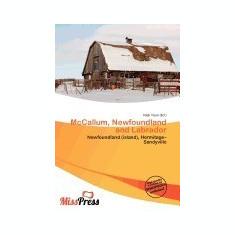 McCallum, Newfoundland and Labrador - Carte in engleza