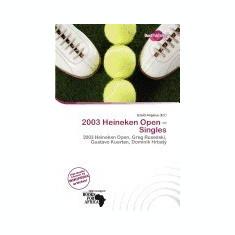 2003 Heineken Open - Singles