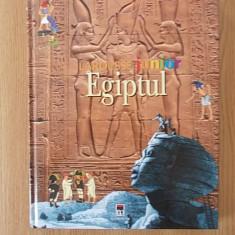 EGIPTUL- LAROUSSE JUNIOR, ilustratii de j. Pemberton- cartonata - Enciclopedie