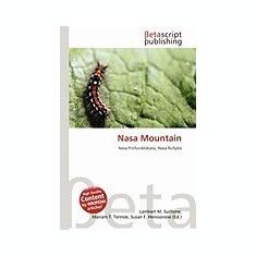 NASA Mountain - Carte in engleza