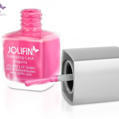 Oja speciala Jolifin pt matrita ce se aplica cu stampila, magenta 12 ml - Lac de unghii