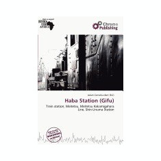 Haba Station (Gifu) - Carte in engleza
