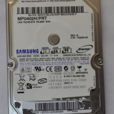 HDD Samsung 40 Gb IDE - laptop - HDD laptop