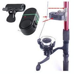 Set 6 Avertizori Senzor Sonor pentru pus Direct pe Lanseta Incluse Bateriile - Avertizor pescuit, Electronice