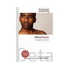 Alfred Kaiser - Carte in engleza