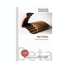 Bar-Tabac - Carte in engleza