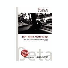 Seat Altea XL/Freetrack - Carte in engleza